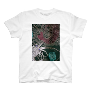 Japanese spiny lobster T-shirts