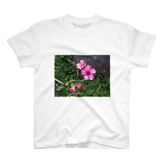 田中民生のLittle Flower T-shirts