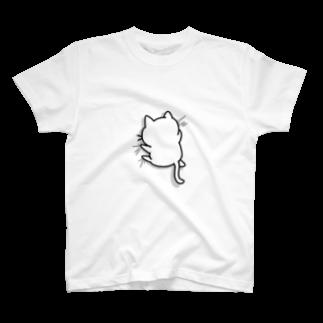 かめ吉のねこガシッ(孤独) T-shirts