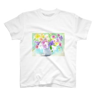 盛り花2 T-shirts