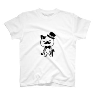 紳士ねこ T-shirts