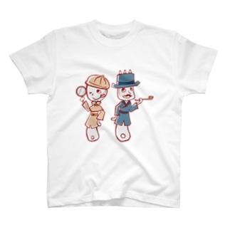 スプーン探偵と助手フォーク T-shirts