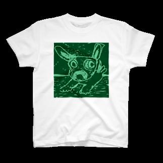 elliの海を渡る Tシャツ