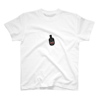 ListenSound-黒地 T-shirts