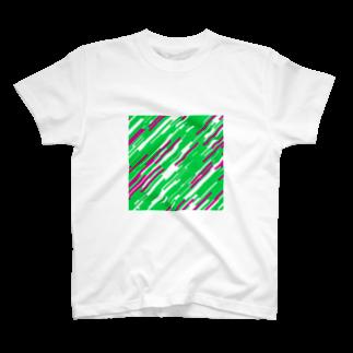 レオナのQuadrangles T-shirts