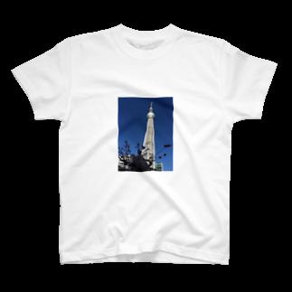 MunehiroのTokyo sky tree T-shirts