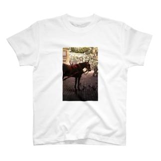 一秒のペガサス(縦長) T-shirts