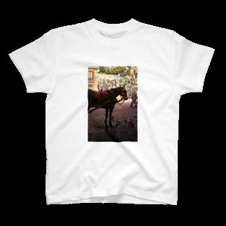 ravenalaの一秒のペガサス(縦長) T-shirts