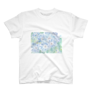 爽蒼花 T-shirts
