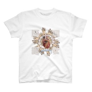 処女降誕 T-shirts