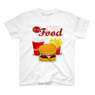 GRAPHICAのFast Food Series T-shirts