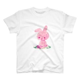 のんびりうさぎ T-shirts