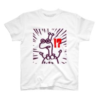 ちくま3(茶) T-shirts
