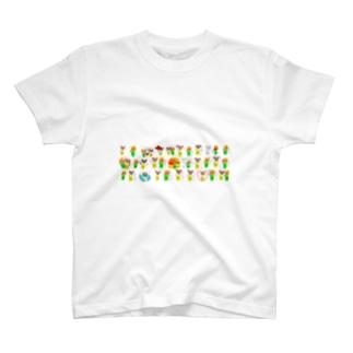 Shiba CAN & Tora CAN T-shirts