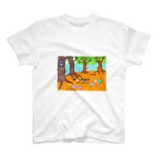 ピクニック T-shirts