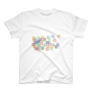 ColorSquareCloud T-shirts