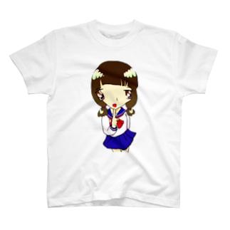 知ってるちゃん(白) T-shirts