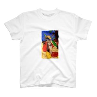 りす騎士 T-shirts