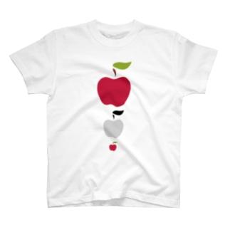 北欧りんご 大中小 T-shirts