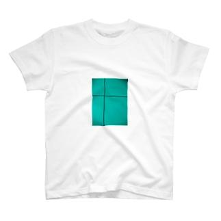 クロスライン(ミント) T-shirts