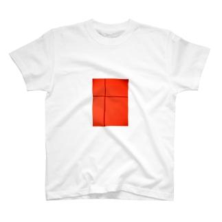 クロスライン(ほうずき) T-shirts