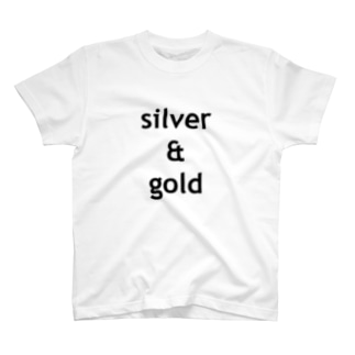 silver & gold T-shirts