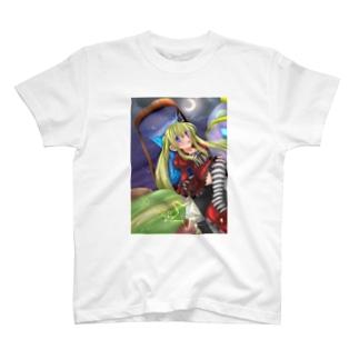 砂時計と人形少女 T-shirts