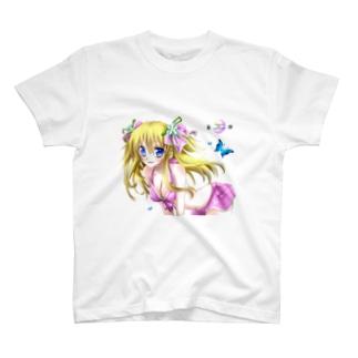 水着少女 T-shirts