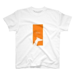 Giraffe memo T-shirts