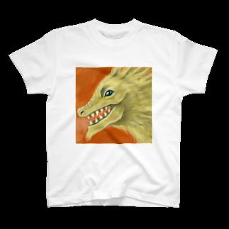 シモニタ研究所売店のご利益ドラゴン T-shirts