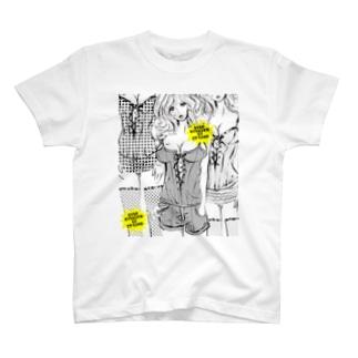 STOP STARING ビスチェの女(大) T-shirts
