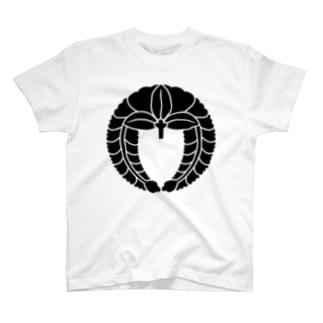 家紋 下り藤 T-shirts