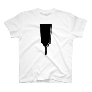 家紋 羽子板 T-shirts