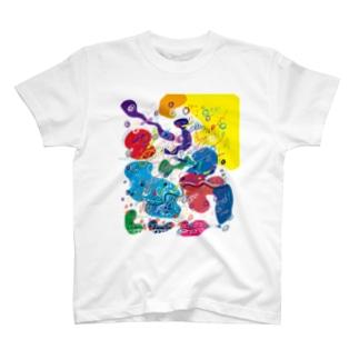 北欧遊びArt T-shirts