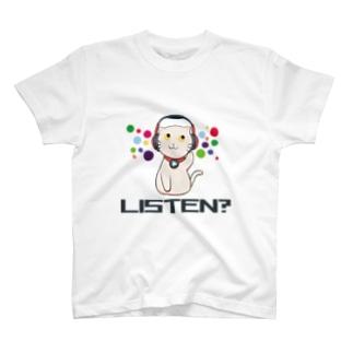 ねこふくろう T-shirts