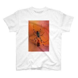 I'm here. 蜘蛛 T-shirts