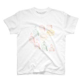 karafuru 香水瓶 T-shirts