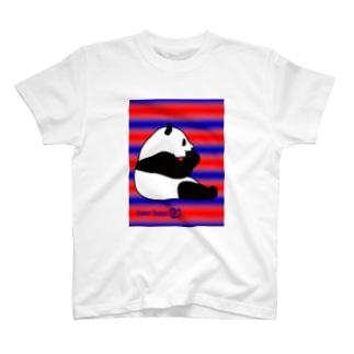 あずろっそのbono panda T-shirts