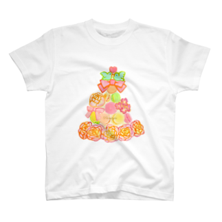 Sari*Prism lights の*マカロンタワー* T-shirts