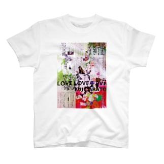 『ラヴ・ラヴ・ラヴ』本文コラージュA T-shirts