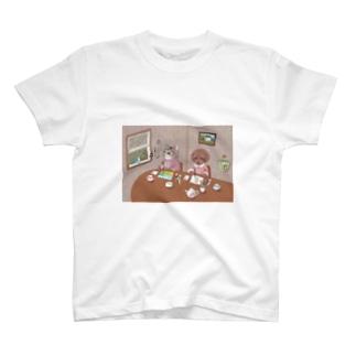 お絵描き T-shirts