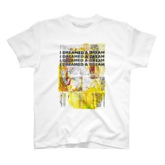 『ラヴ・ラヴ・ラヴ』本文コラージュB T-shirts