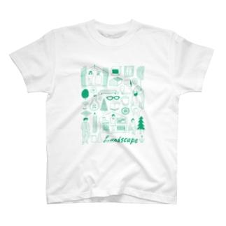 life landscape T-shirts