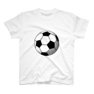 サッカーボール T-shirts