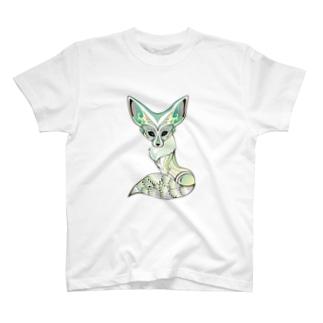 フェネックさん T-shirts