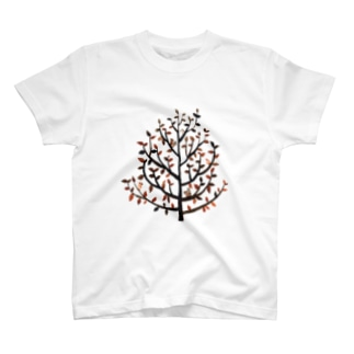 葉っぱと木 T-shirts
