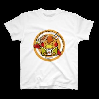 えのきのこのさっぽろザンギプロジェクト【公式キャラグッズ】 T-shirts