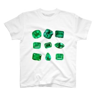 ごろごろEmerald T-shirts