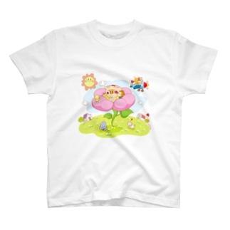 えいちえすCuteAnimalWorld01 T-shirts