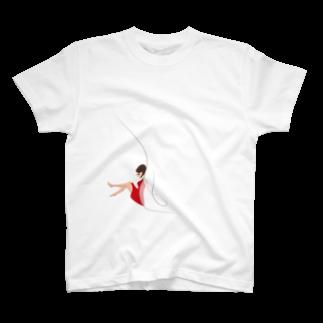 ツルマルデザインのmusician haruka-san T-shirts